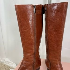 Bandolino Shoes - Bandolino brown leather boots size 9.5 med
